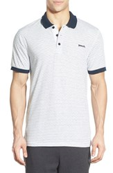 Men's Bench 'Parter' Stripe Jersey Polo