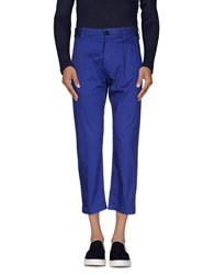 Christian Pellizzari Trousers Casual Trousers Men Blue