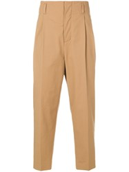 3.1 Phillip Lim High Waist Tailored Trousers Brown