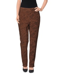 Brebis Noir Casual Pants Brown
