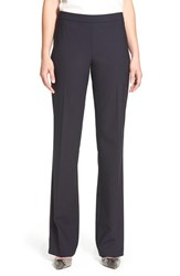 Women's Boss 'Tulea' Bootcut Stretch Wool Trousers Navy