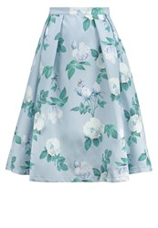 Chi Chi London Gilly Aline Skirt Grey