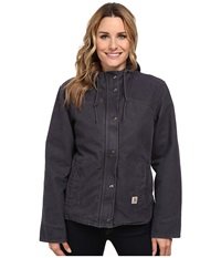 Carhartt Sandstone Berkley Jacket Coal Women's Jacket Gray
