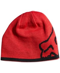 Fox Men's Streamline Beanie Red Black
