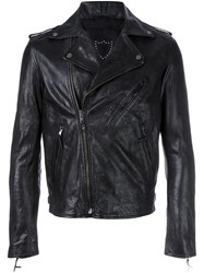 Htc Hollywood Trading Company 'St. Louis' Biker Jacket Black