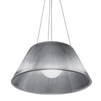 Flos Romeo Moon S2 Suspension Light Clear Glass