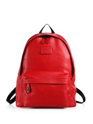 Coach Campus Pebbled Leather Backpack
