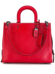 Coach 'Rogue' Tote Red