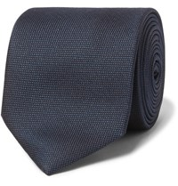 Hugo Boss 7.5Cm Silk Jacquard Tie Midnight Blue