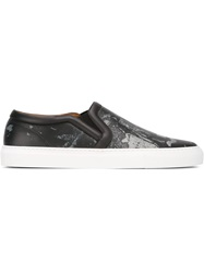 Givenchy Love Print Sneakers Black