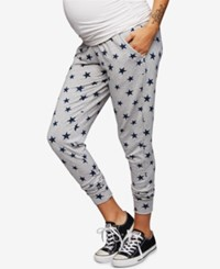 A Pea In The Pod Maternity Jogger Pants Star Print