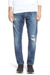 Jean Shop Jim Slim Fit Selvedge Jeans Christopher Blue