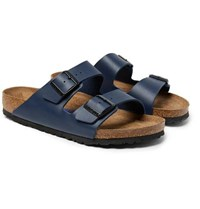 Birkenstock Arizona Birko Flor Sandals Navy