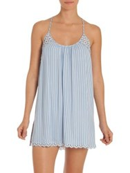 In Bloom Seashore Stripe Chemise Blue