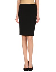 Irma Bignami Skirts Knee Length Skirts Women Black