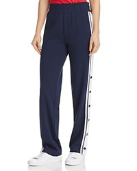Tommy Jeans Half Snap Track Pants Black Iris