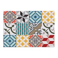 Hibernica Large Tiles Vinyl Placemat Multi