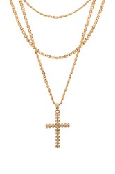 Frasier Sterling Holy Grail Necklace Metallic Gold