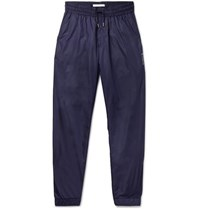 Givenchy Slim Fit Tapered Shell Track Pants Blue