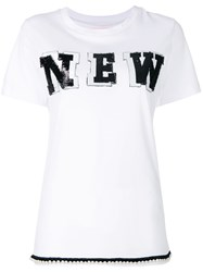 Femme By Michele Rossi New T Shirt White