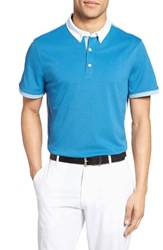 Ag Jeans Men's The Deuce Colorblock Pique Polo