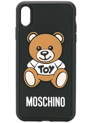 Moschino Toy Teddy Iphone Xs Max Case Black