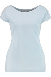 Tomas Maier Stretch Cotton Blend Terry Top