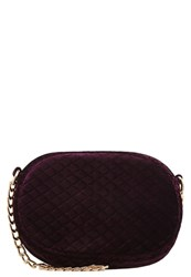Missguided Across Body Bag Purple