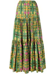 La Doublej Big Skirt Green