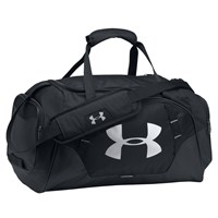 Under Armour Storm Undeniable 3.0 Large Duffel Bag Black Silver