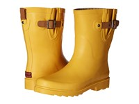Chooka Top Solid Mid Rain Boot Marigold Women's Rain Boots Yellow