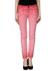 Twin Set Jeans Casual Pants Coral