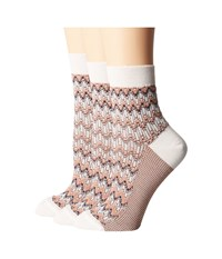 Missoni Ankle Socks Champagne