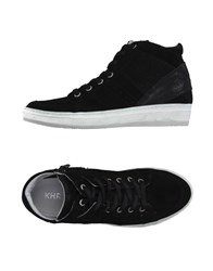 Khrio' Footwear High Tops And Trainers Women Black