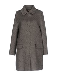 Scee By Twin Set Coats Grey