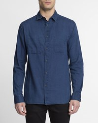 Nudie Jeans Dark Blue Warren Shirt