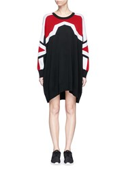 Neil Barrett 'Minimal Cowboy' Knit Dress Multi Colour