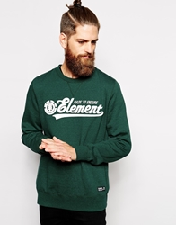 Element Faculty Sweat Green