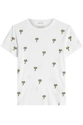 Marc Jacobs Embroidered Cotton T Shirt