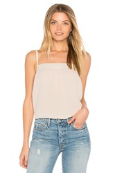 Vince Embroidered Cami Cream