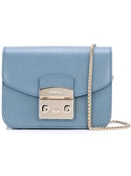 Furla Chain Strap Crossbody Bag Blue
