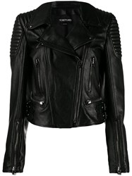 Tom Ford Biker Jacket Black