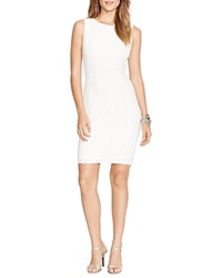 Lauren Ralph Lauren Dress Boat Neck Lace