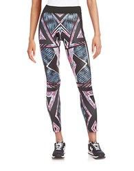 Y.A.S Mesh Accented Active Leggings
