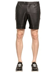 Perdre Haleine Faux Leather Shorts
