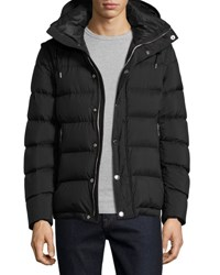 Burberry Basford 2 In 1 Puffer Jacket Black
