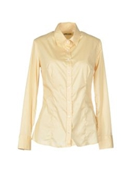 Entre Amis Long Sleeve Shirts Light Brown