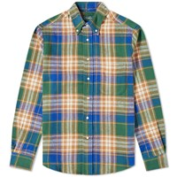 Gitman Brothers Vintage Oregon Brushed Triple Yarn Shirt Multi