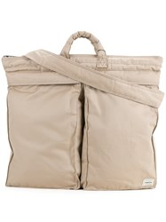 Mackintosh Porter Backpack Men Cotton One Size Nude Neutrals