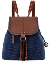 The Sak Avalon Convertible Crochet Backpack A Macy's Exclusive Style Denim